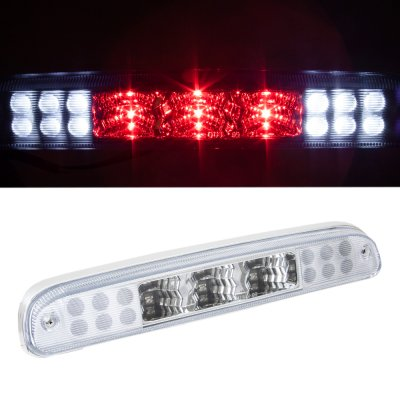 Ford F250 Super Duty 2008-2010 Clear LED Third Brake Light