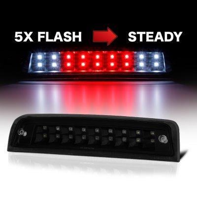 Dodge Ram 2009-2018 Black Smoked Flash LED Third Brake Light
