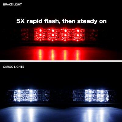 Dodge Ram 1994-2001 Clear Flash LED Third Brake Light
