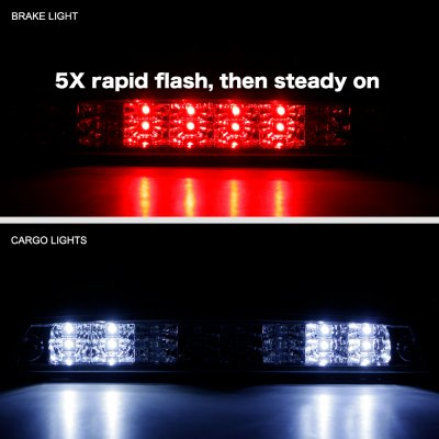Dodge Ram 2500 1994-2002 Smoked Flash LED Third Brake Light