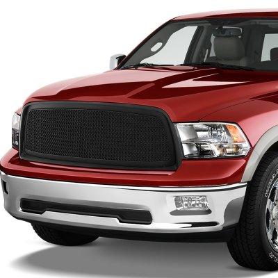 Dodge Ram 2009-2012 Black Mesh Grille