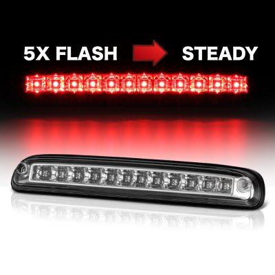 Ford F550 Super Duty 2011-2016 Clear Flash LED Third Brake Light