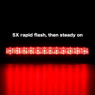 Ford F550 Super Duty 2008-2010 Clear Flash LED Third Brake Light