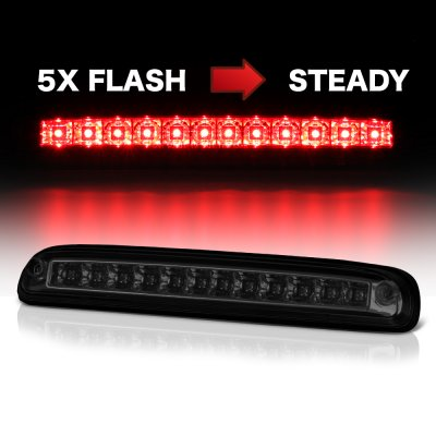 Ford F250 Super Duty 2011-2016 Smoked Flash LED Third Brake Light