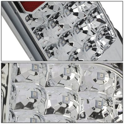 Toyota Tundra 2014-2020 Clear LED Tail Lights