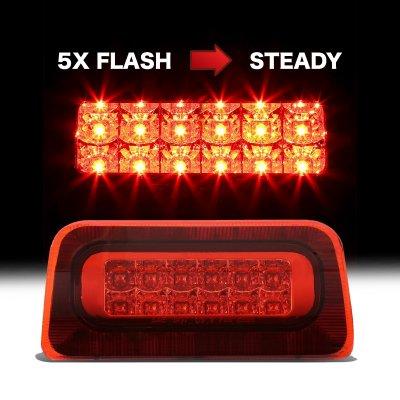 Chevy S10 Regular Cab 1994-2003 Flash LED Third Brake Light