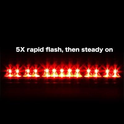 Toyota Tundra 2000-2006 Smoked Flash LED Third Brake Light