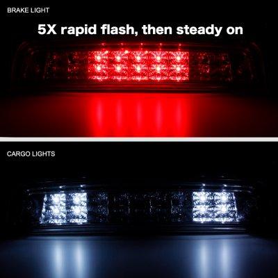 Dodge Ram 2500 2010-2018 Smoked Flash LED Third Brake Light
