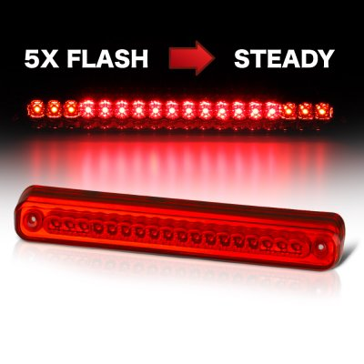 Chevy 1500 Pickup 1988-1998 Flash LED Third Brake Light