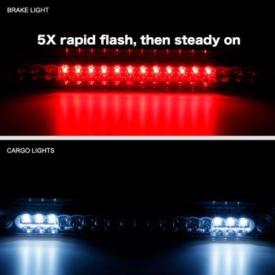 Chevy Silverado 1988-1998 Smoked Flash LED Third Brake Light