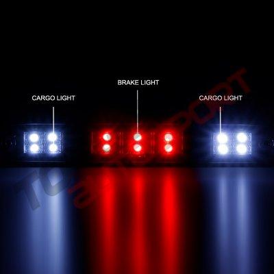 Ford Bronco 1992-1996 Black LED Third Brake Light