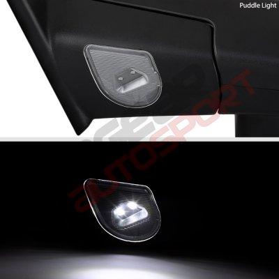 Dodge Ram 2500 2010 2018 Heated Towing Mirrors Smoked Signal Lights Temp Sensor