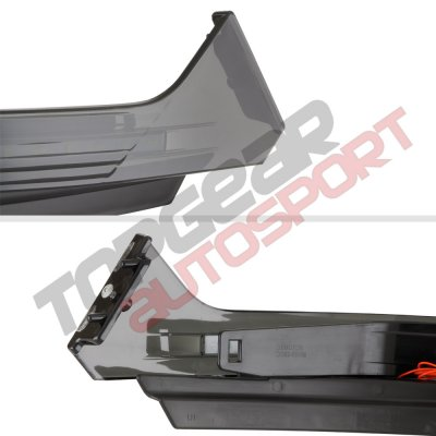 Dodge Ram 2500 2010-2015 LED DRL Bumper Trim Cap Filler Black