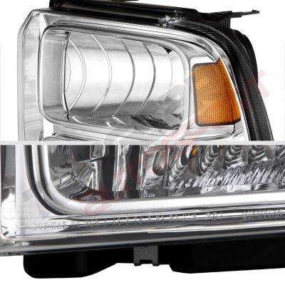 2005 Ford Excursion Euro Headlights