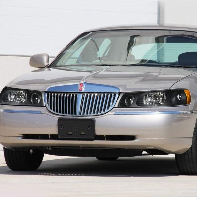 Lincoln Town Car 1998 2002 Black Headlights A135rol2102