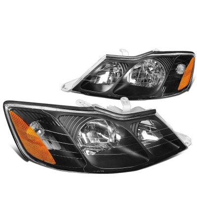 Toyota Avalon 2000 2004 Black Headlights A1359qbx102 Topgearautosport