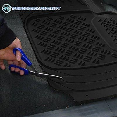 Nissan Titan 2004-2015 Black Floor Mats