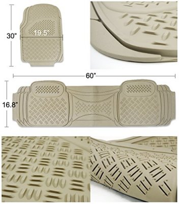 Nissan Titan 2004-2015 Beige Floor Mats