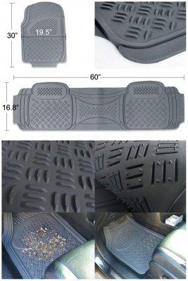 Jeep Wrangler JK 2007-2018 Grey Floor Mats