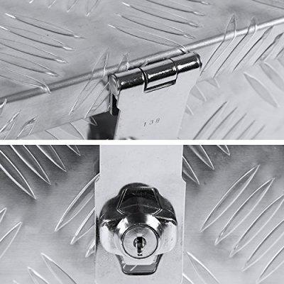 Nissan Titan 2004-2015 Aluminum Truck Tool Box 30 Inches Key Lock