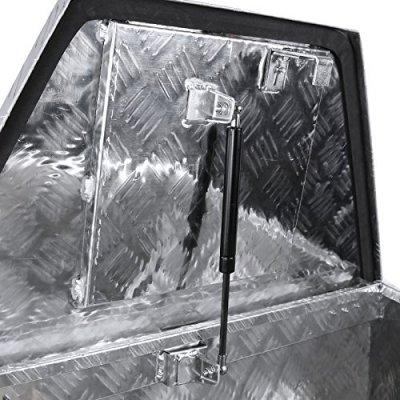 Dodge Ram 3500 2010-2018 Aluminum Trailer Tongue Tool Box Key Lock