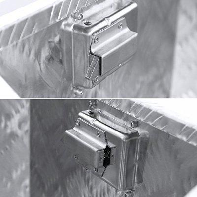 Ford F450 Super Duty 2017-2018 Aluminum Trailer Tongue Tool Box Key Lock