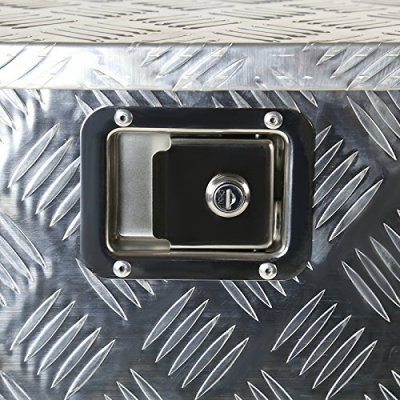 Dodge Ram 2500 1994-2002 Aluminum Trailer Tongue Tool Box Key Lock