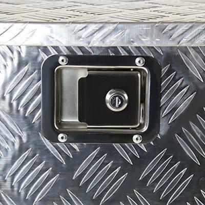 Toyota Tundra 2007-2013 Aluminum Trailer Tongue Tool Box Key Lock