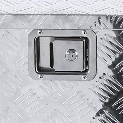 Nissan Titan 2004-2015 Aluminum Truck Tool Box 49 Inches Key Lock