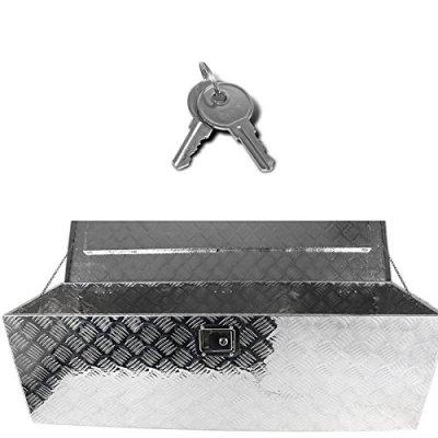 Jeep Wrangler JK 2007-2018 Aluminum Truck Tool Box 49 Inches Key Lock
