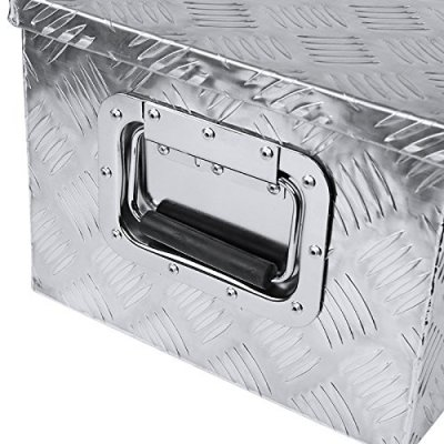 Jeep Wrangler JK 2007-2018 Aluminum Truck Tool Box 49 Inches Key Lock