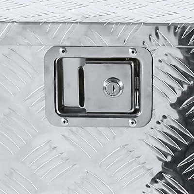 Ford F450 Super Duty 2017-2018 Aluminum Truck Tool Box 49 Inches Key Lock