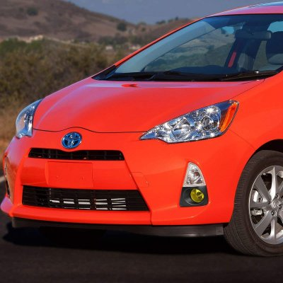 Toyota Prius c 2012-2014 Yellow Fog Lights Kit