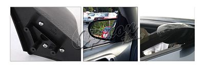 Acura Integra Coupe 1994-2001 Carbon Fiber Cover Spoon Style Manual Side Mirror