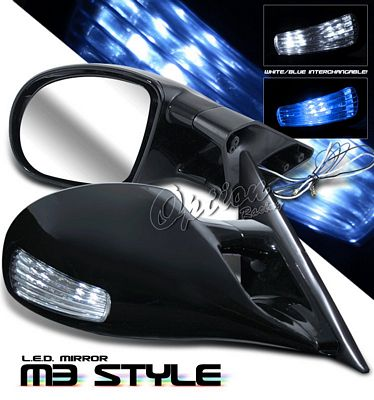 Mitsubishi Eclipse 1995 1999 Black M3 Style Side Mirror