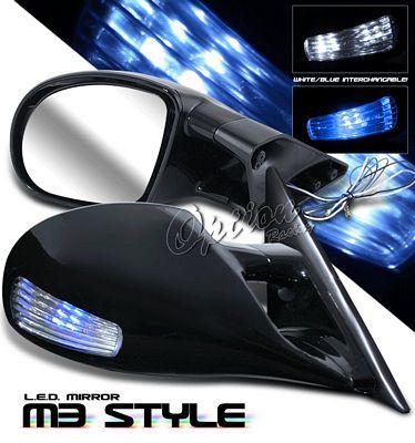 Mitsubishi Eclipse 1995-1999 Black M3 Style Side Mirror