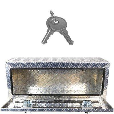 Jeep Wrangler JK 2007-2018 Aluminum Truck Tool Box 36 Inches Key Lock