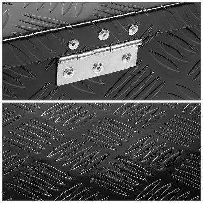 Toyota Tundra 2014-2018 Black Aluminum Truck Tool Box 39 Inches Key Lock