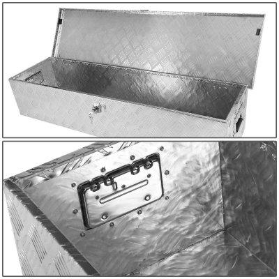 GMC Sierra 1999-2006 Aluminum Truck Tool Box 48 Inches Key Lock