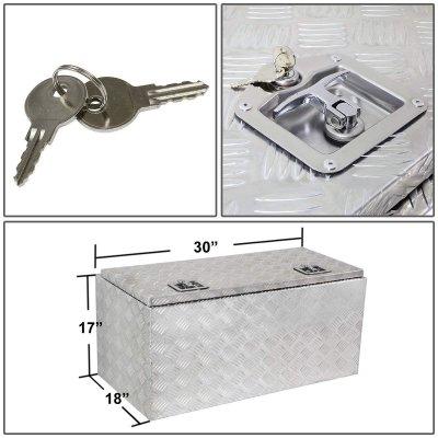 Dodge Ram 1994-2001 Aluminum Truck Tool Box 30 Inches Top Key Lock