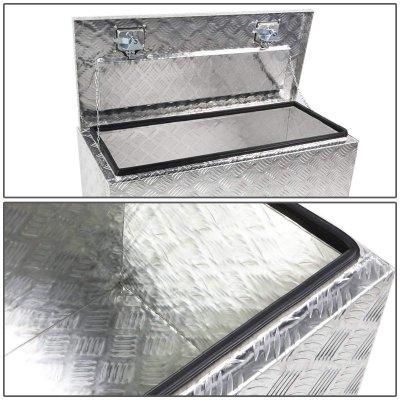 Nissan Titan 2004-2015 Aluminum Truck Tool Box 30 Inches Top Key Lock