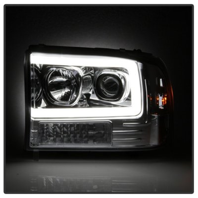 Ford Excursion 2000-2004 Tube DRL Projector Headlights