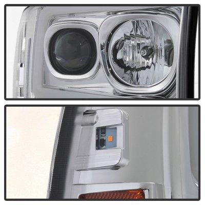 Ford F250 Super Duty 1999-2004 Tube DRL Projector Headlights