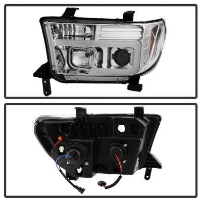 Toyota Tundra 2007-2013 Tube DRL Projector Headlights