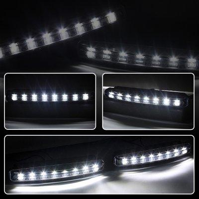 Chevy Impala 2006-2011 Black Smoked Projector Headlights