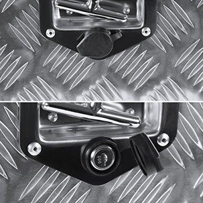 Ford F250 Super Duty 1999-2007 Aluminum Truck Tool Box 24 Inches Key Lock