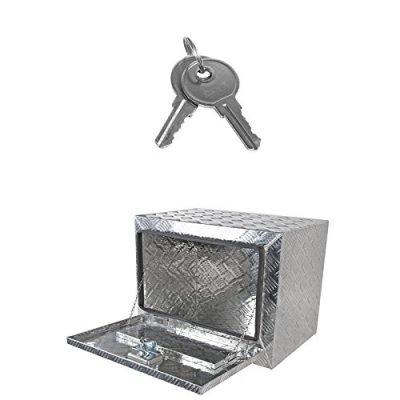 Ford F350 Super Duty 2017-2018 Aluminum Truck Tool Box 24 Inches Key Lock