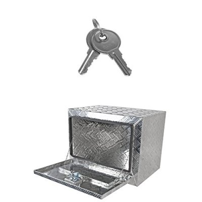 Jeep Wrangler JK 2007-2018 Aluminum Truck Tool Box 24 Inches Key Lock
