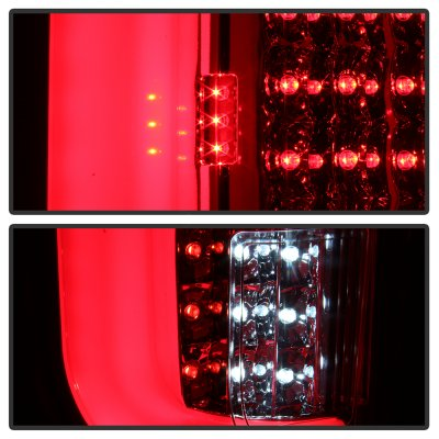 Ford F250 Super Duty 2017-2018 Tube LED Tail Lights