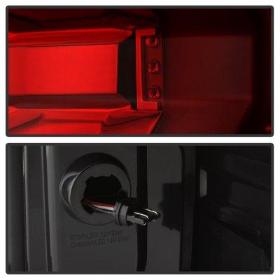 Chevy Silverado 2500HD 2015-2018 Tube Full LED Tail Lights